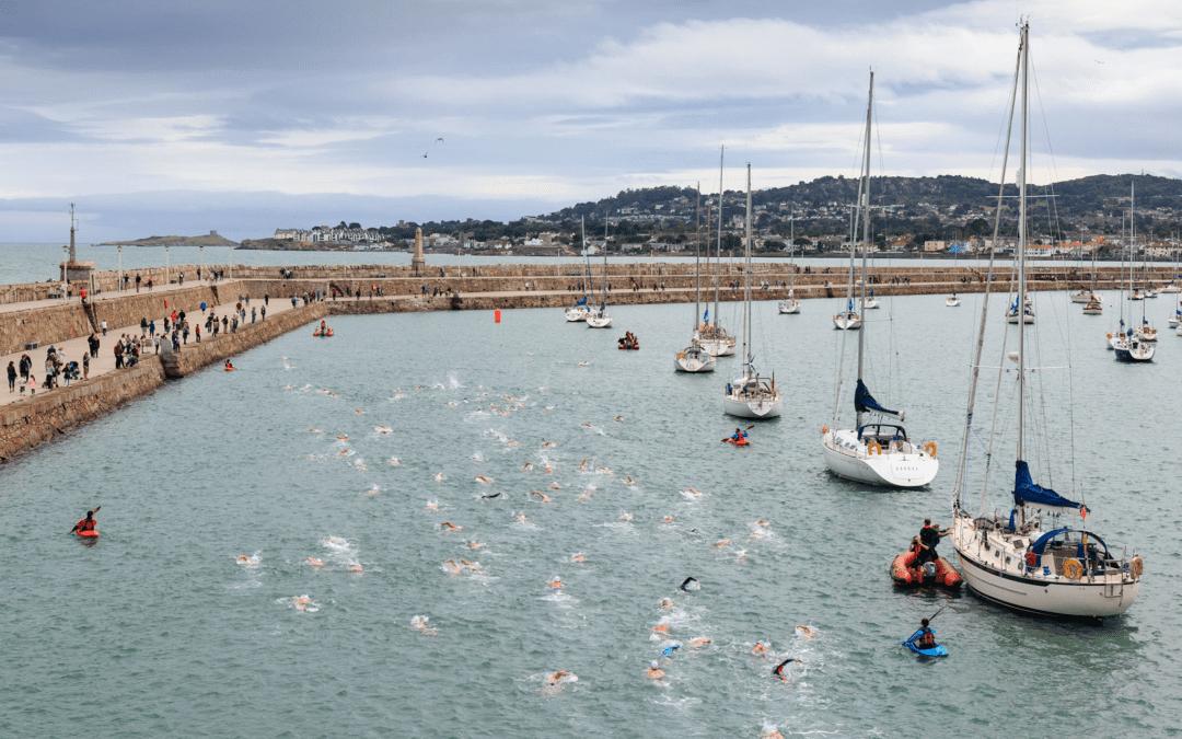 The 87th Dún Laoghaire Harbour Swim Race