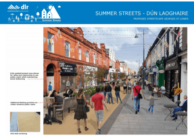 Consultation on Summer Streets: Dún Laoghaire